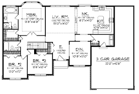 luxury ranch floor plans ranch style house plan 5 beds 350 baths 3821 sqft plan 60 480