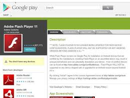 android adobe flash player adobe elimina el soporte de flash para android enter co