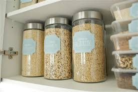 clear glass canisters for kitchen metal kitchen storage containers