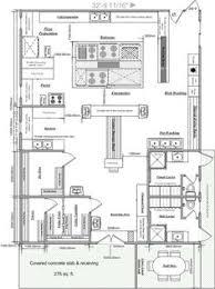 kitchen floor plan ideas sle kitchen floor plan shop drawings kitchen