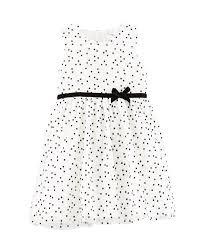 Little Girls Clothing Stores Carter U0027s Baby Girls U0027 Flocked Baby Dress W Diaper Cove Baby