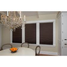 redi shade chocolate brown paper pleated shade 48 in w x 72 in