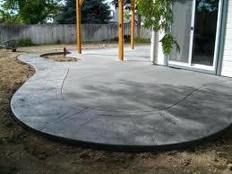 ideas for a concrete patio u2013 smashingplates us