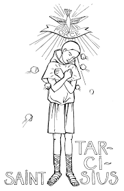 coloring pages of st joseph sketch coloring page