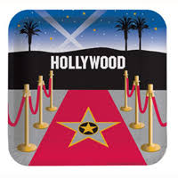 hollywood themed party decorations