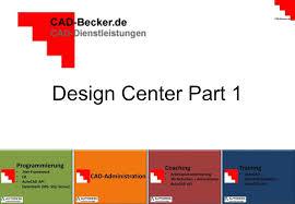 design center cad autocad das design center part 1 youtube
