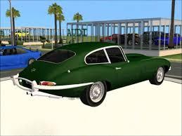 sims 2 car conversion by vovillia corp 1961 jaguar e type s1
