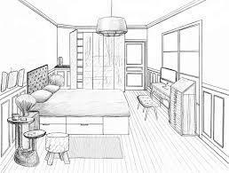 chambre en perspective dessiner en perspective une cuisine comment dessiner sa chambre