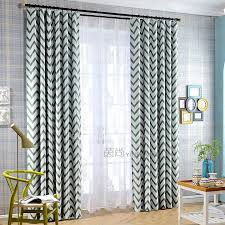 Chevron Design Curtains Curtains Green And Grey Decorate The House With Beautiful Curtains