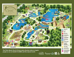 Oregon Zoo Map zoos west palm beach