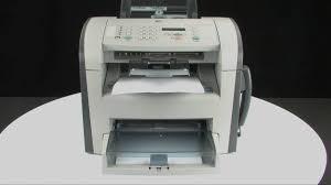 printing a test page hp laserjet m1319f multifunction printer