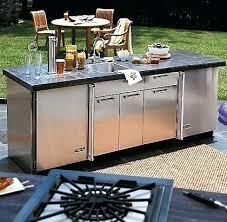 meuble de cuisine exterieur meuble cuisine exterieure meuble acvier en acier inox pour jardin