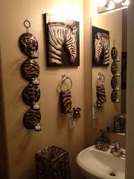 Animal Print Bathroom Ideas Safari Bathroom Safari Bathroom Pinterest Safari Bathroom