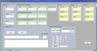 design and implementation of the monitoring and control systems