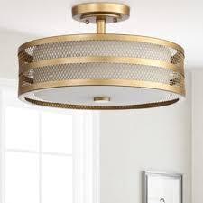industrial flush mount light industrial flush mount lighting for less overstock com