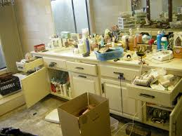 Bathroom Countertop Organizer by Organizing Your Bathroom Often Requires A Big Purge San Diego