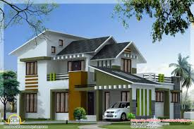 1750 square feet 3 bedroom modern villa kerala house design idea