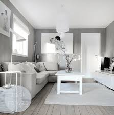 white and light grey natural charme blank canvas living