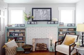 Mantel Bookshelf Mantel Shelves Living Room Contemporary With Ash Floors Beige