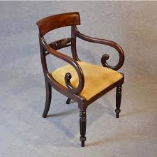 Antique Regency Chairs Antique Furniture - Regency office furniture