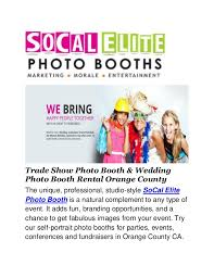 photo booth rental orange county photo booth rental orange county socal elite photo booths