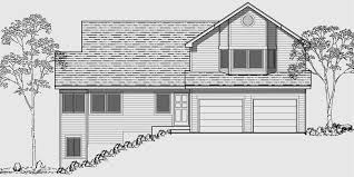 side sloping lot house plans 4 bedroom house plans house plans