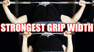 Proper Benching Best Grip Width For The Bench Press Youtube