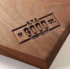 monogrammed serving trays engraved serving tray for company branding culinary wood designs