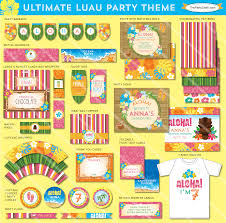 13 best images of free printable luau decorations free printable
