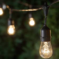 Hanging Patio Lights String 20 Warm White G40 Solar Patio Lights Yard Envy Regarding Plans 14