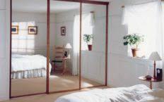 Mirror Closet Door Repair Mirror Sliding Closet Doors For Bedrooms Sizes Door Lock 2018 And