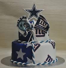 ny giants cowboys grooms cake the cake zone sarasota tampa fl