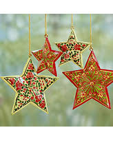 don u0027t miss this deal on wood christmas ornaments u0027starry sky