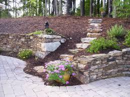 retaining wall designs ideas landscaping stone retaining wall