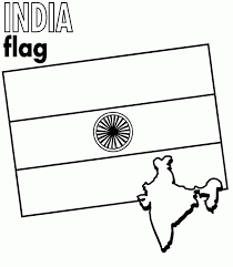 map of india for kids coloring home