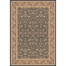 Dynamic Rugs Dynamic Rugs Legacy Navy 5 Ft 3 In X 7 Ft 7 In Indoor Area Rug