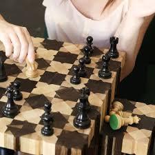 chess table the field chess table by oya meryem yanik for fundamental berlin