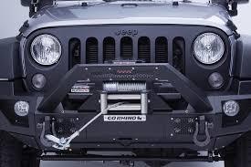 rhino jeep wrangler 2017 go rhino jeep wrangler 2007 2017 brj40 stubby black front winch