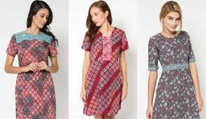 gambar model baju batik modern model baju batik modern dress yang fresh dan 31 model baju batik