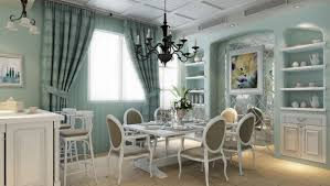 blue dining room ideas light blue wall vertical folding curtain full size of dining room blue dining room ideas rectangle white table dining chair metal