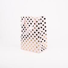polka dot stationery stationery party bags 1 gift bag gold polka dots my
