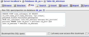 query membuat tabel di sql membuat tabel view di phpmyadmin ri32 s weblog