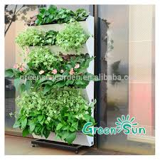 Vertical Garden Pot - plastic plant pot vertical garden hanging planter view vertical