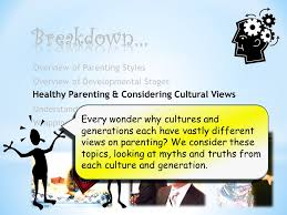 understanding parenting styles and personality development l l
