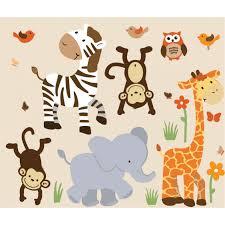 safari murals with zebra wall decor for boys safari wall decor with zebra wall art for boys bedrooms