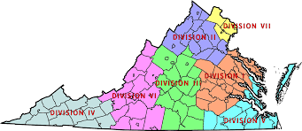 Virginia State Map With Cities by File Virginia State Police Division Map Png Wikimedia Commons