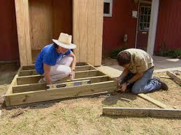 How To Build A Tool Shed Ramp by How To Build A Handicap Ramp And Landing How Tos Diy