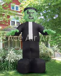 halloween airblown inflatable lawn decorations online get cheap halloween inflatable frankenstein aliexpress com