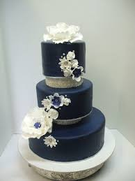 something blue a classy but very cool wedding colour scheme