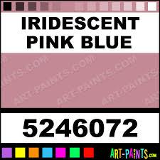 iridescent pink blue dry permenamel enamel paints 5246072